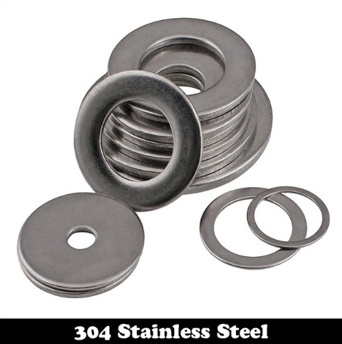 2400pcs M4 M4*8*0.5 M4X8X0.5 (ID*OD*Thickness) 2# 304 Stainless Steel SS DIN125 Washers Plain Plat Washer 8 4 1030788