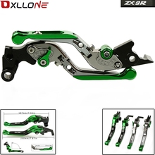 цены For Kawasaki ZX9R ZX-9R ZX 9R 2000-2003 2001 2002 Motorcycle Accessories CNC Adjustable Folding Extendable Brake Clutch Levers