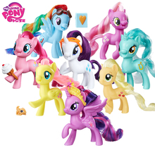 цена на My Little Pony Toy Friendship is Magic Tempest Shadow Rainbow Lyra Heartstring Rarity PVC Action Figure Collection Model Doll