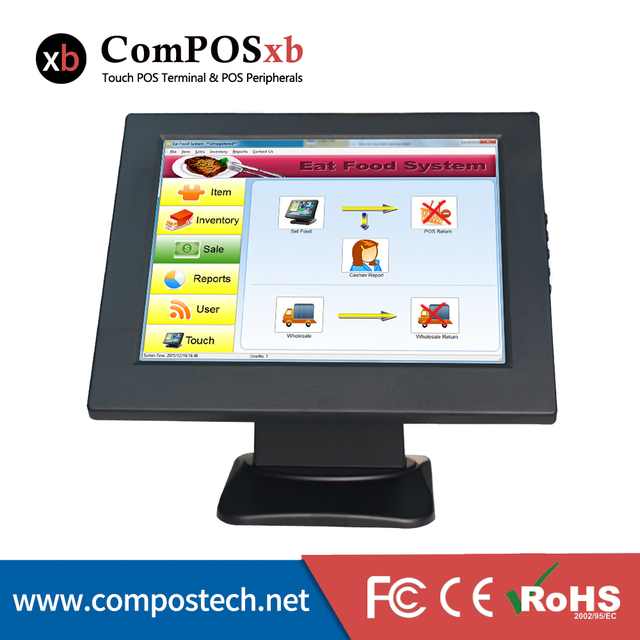10 Inch LCD Screen Monitor For POS PC Desktop Display Monitor