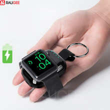 Внешняя батарея для Apple Watch 1 2 3 4 5, портативное беспроводное зарядное устройство 700 мАч для путешествий на открытом воздухе