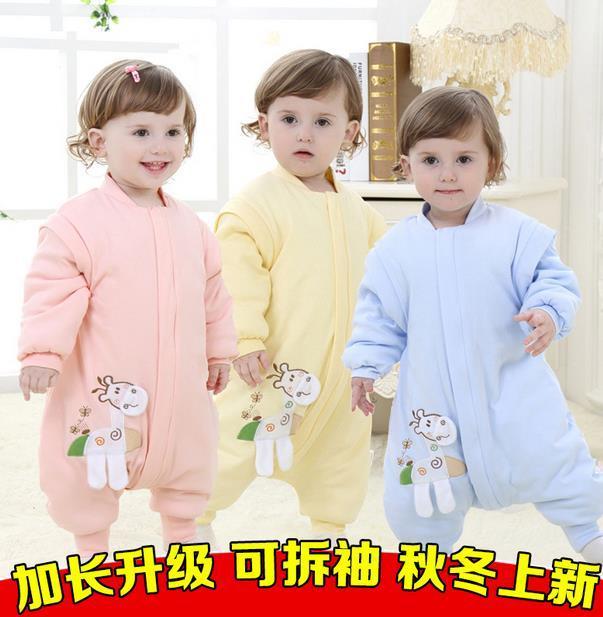 2015 hot 100CM Baby sleeping bags Winter Warm cotton newborn baby sleeping sack/bunting Microfleece infant Sleepsacks