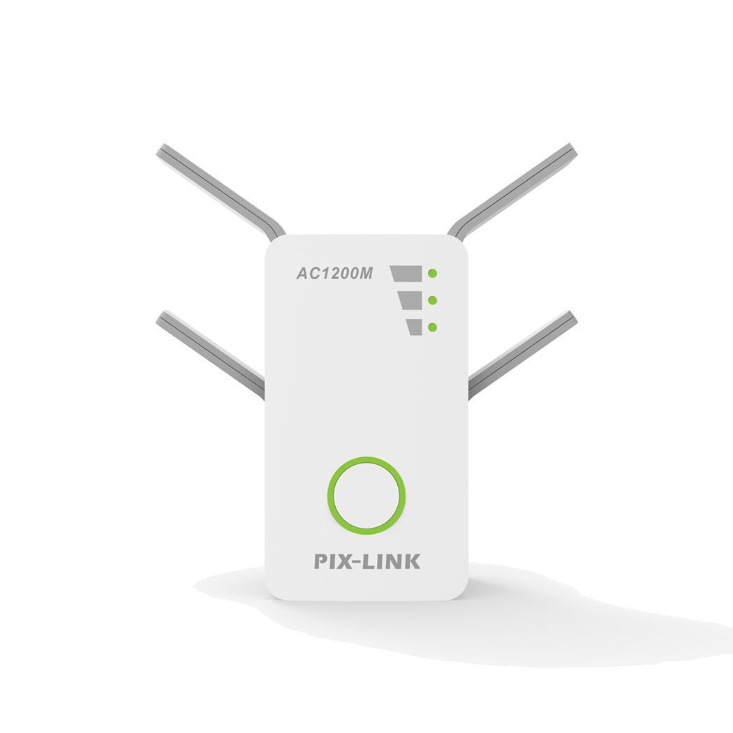 AC1200M sans fil répéteur haute puissance/routeur/AP gamme Extender Signal oui 2.4G et 5G Booster 10 100Mbps