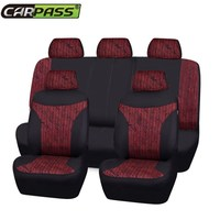 Car Pass New Luxury Auto Universal Car Seat Covers Automotive Seat Covers For Toyota Lada Kalina
