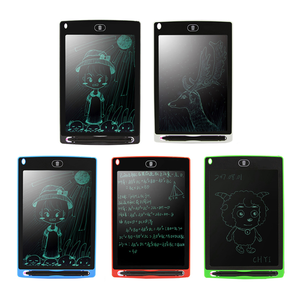 "8.5/"" Electronic LCD Writer Graphic Drawing Tablet Writing Pad Painting Board"
