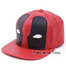 Moda Marvel X-MEN Deadpool cuero béisbol del Snapback sombrero para hombres  Hip Hop Cap aff35de427a