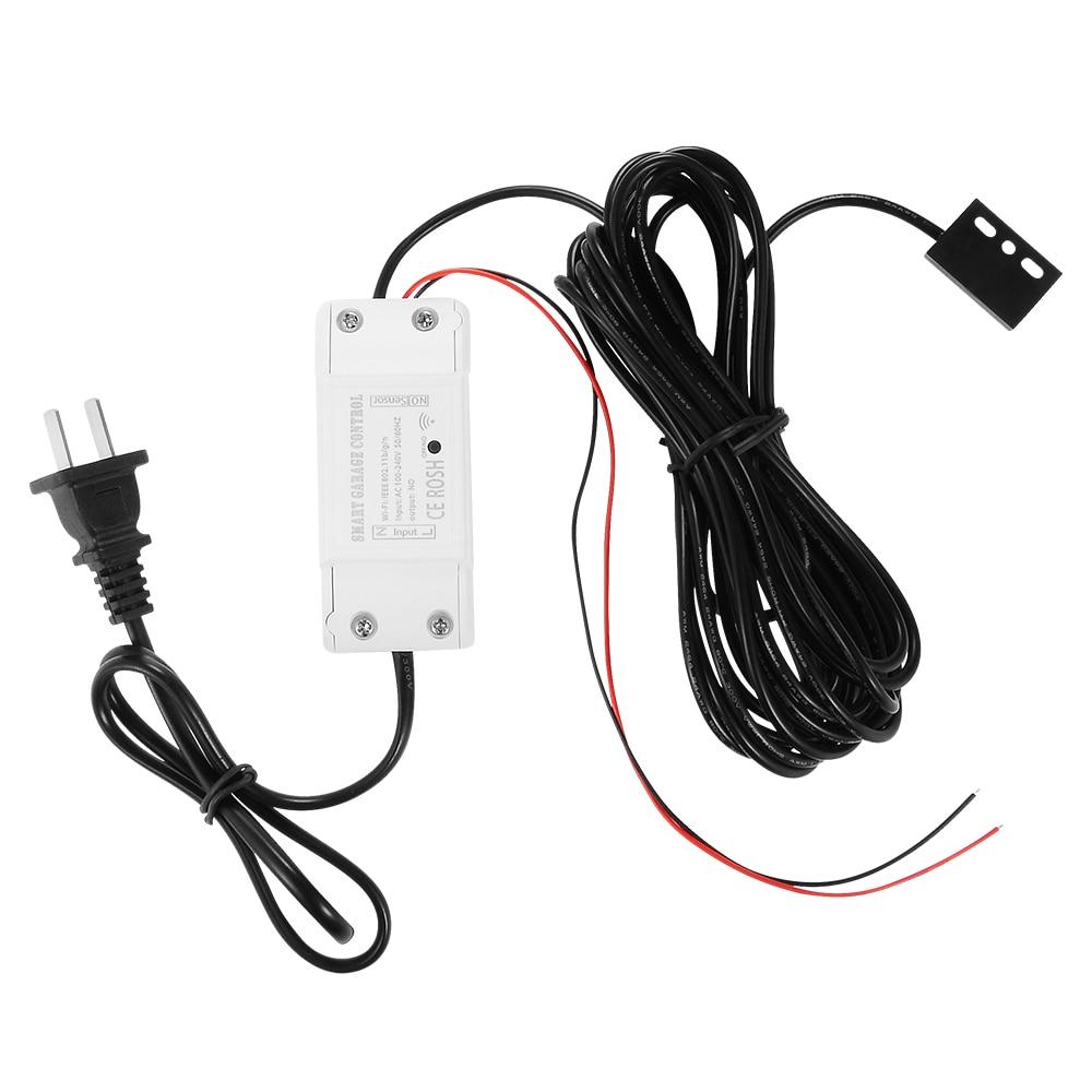 Tuya WiFi Switch Garage Door Controller for Car Garage Door Opener APP Remote Control Timing Voice