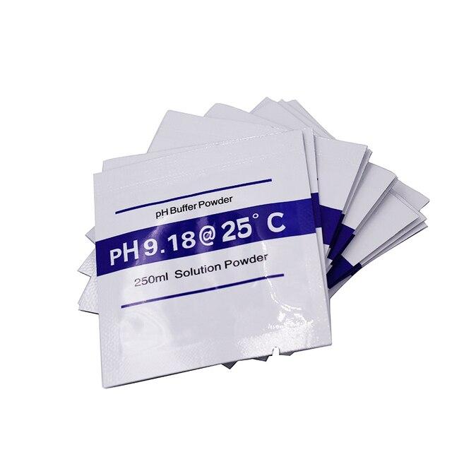 200 taschen PH Puffer Pulver Für PH Test Meter Messen Kalibrierung Lösung 9,18 20% off