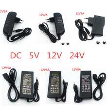 Power Adapter Supply DC 5V 12V 24V 1A 2A 3A 5A 6A 8A DC 5 12 24 V Volt Lighting Transformers LED Driver Power Adapter Strip Lamp