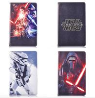3D Science Movie Star Wars The Force Awakens PU Leather Case Cover For Samsung Galaxy Tab4