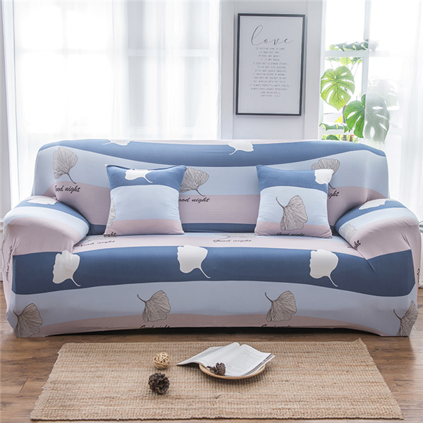Monily Summer Flower Cool Color Sofa