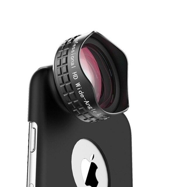 Aukey PL-WD04 Оптический Pro Объектив 110 градусов HD Широкий Угол с Корпус и Клип Сотовый Телефон Объектива Камеры