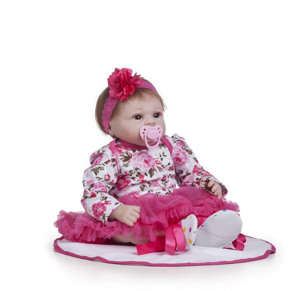 Bébé reborn silicone барби холодное сердце peluches lol réaliste бжд poupées bébés кукла bébés pleureurs