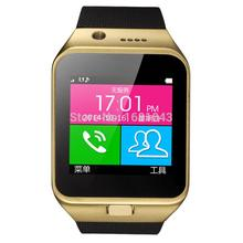 2015 New Smart Watch GV09 With Camera Bluetooth WristWatch SIM Card Smartwatch For Ios Android Phones