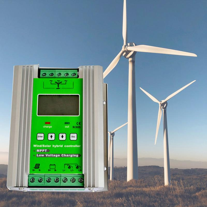 1200W MPPT Wind Solar Hybrid Charge Controller 24V 40A For 800W Wind 400W Solar With Booster And Free Dump Load hot sale saipwell sx sxn wind solar hybrid street light controller with nightlight function 12 24v 40a type sx40