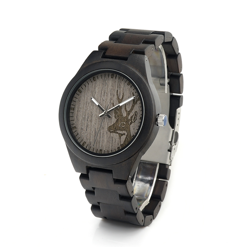 2017 Luxury BOBO BIRD Brand Watches Men Wood Strap Japanese Movement Quartz Wooden Watch relogio masculino C-I26 bobo bird new luxury wooden watches men and women leather quartz wood wrist watch relogio masculino timepiece best gifts c p30