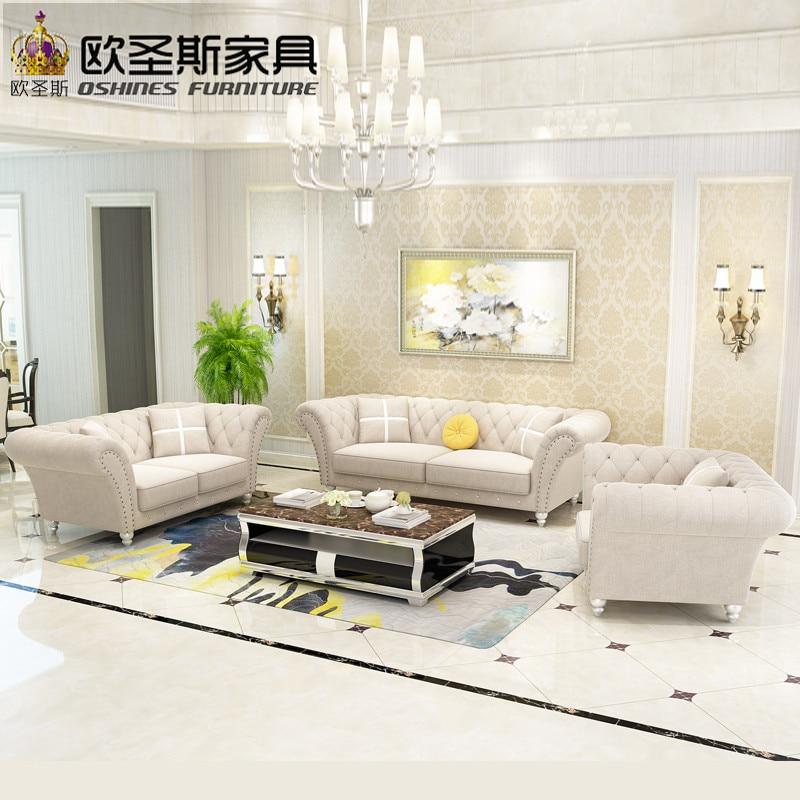 china 2017 latest design 7 seater 3 2 1 1 sofa livingroom Furniture