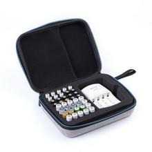 1pc aaa aa Battery Holder Case Battery EVA Rechargeable Battery Storage Box Battery Organizer Bag for 40pcs aa aaa Range Piles