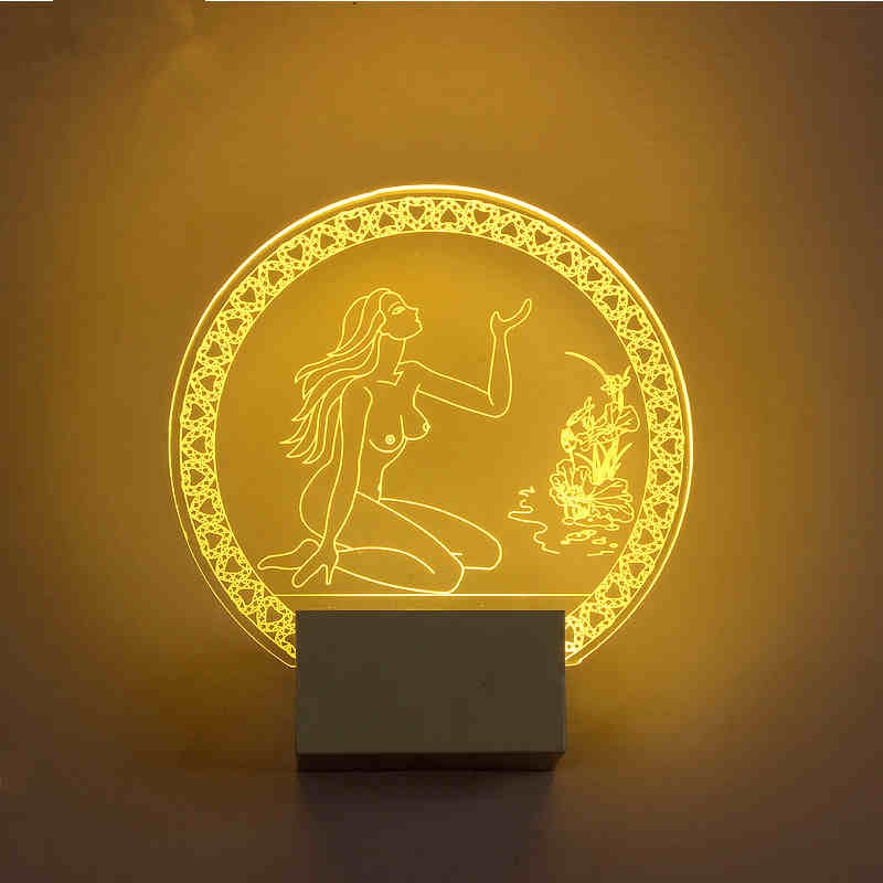 ФОТО Mural Acrylic indoor wall lamp fairy Novelty creative personality living room bedroom bedside lamp aisle lights lampadas led