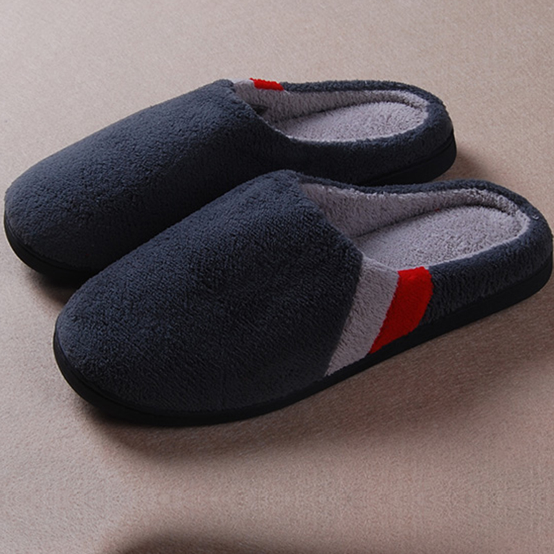 Plush Pantofole Winter Europe Male Sewing Indoor Soft Coral s