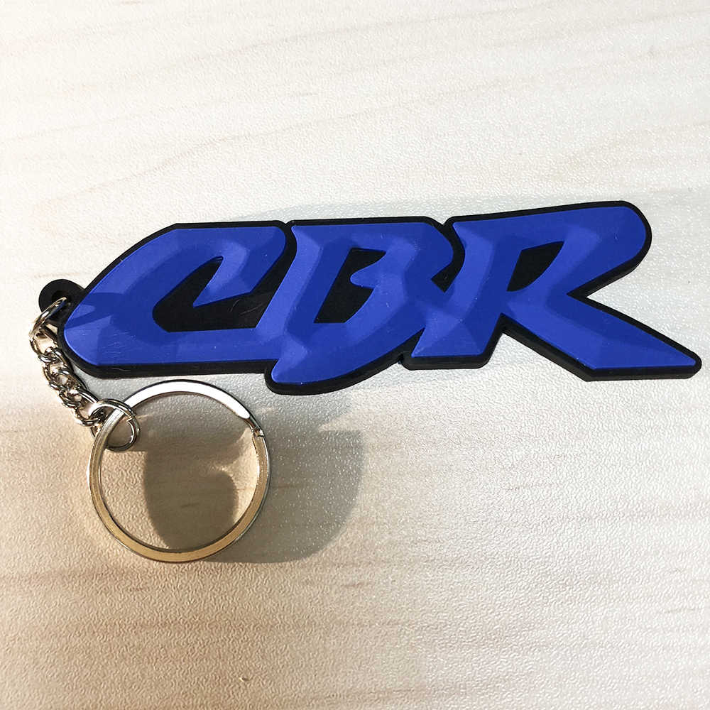2018 オートバイ 3D ソフトゴムキーリングキーホルダーホンダ CBR650F CBR600 CBR900RR CBR600RR CBR1000RR CBR929RR