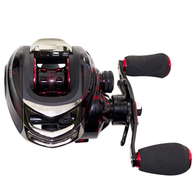 Fishing Reels 14+1 Ball Bearings Right Baitcasting Reel 6.3:1 Gear Ratio Casting Reel Carp Fishing Tackle Carretilhas Pesca