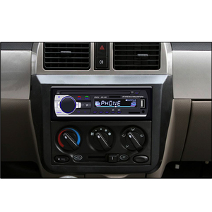 Image 5 - Camecho Bluetooth Autoradio Car Stereo Radio FM Aux Input Receiver SD USB JSD 520 12V In dash 1 din Car MP3 Multimedia Player