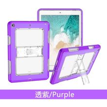 3 in 1 Soft TPU + PC Kids Safe Shockproof Funda Cover For Apple New iPad 9.7 2018 2017 Generation Tablet Children Kickstand Case