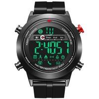 Smart watch sport pacer sleep monitoring waterproof bracelet phone information reminder alarm clock Bluetooth digital smartwatch