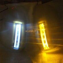 Światła LED Lusterko Wsteczne Z Pokrywą; led włącz singal światła case dla toyota highlander estima alphard vanguard voxy novy itp