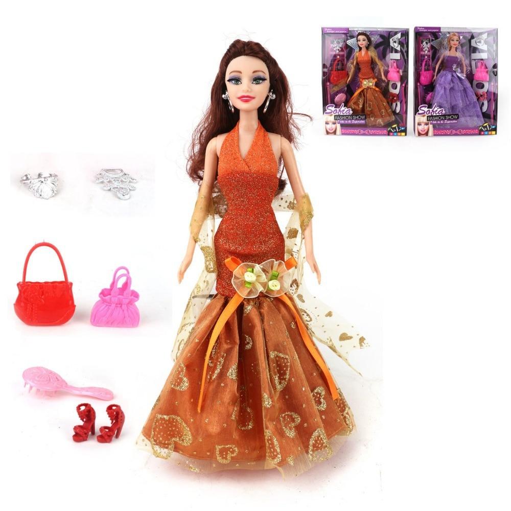 Dress up princess doll - Online Shop Dolls Clothes American Girl Doll With Dress Up Princess Doll For Children Girls Toys Best Gift A30201647 Aliexpress Mobile