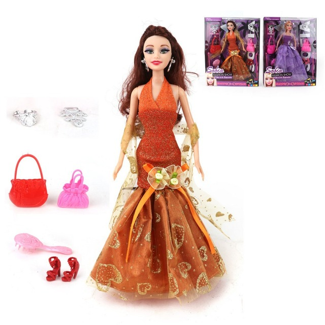 Aliexpress.com : Buy dolls clothes american girl doll with dress ...