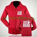 2 style Women and men THE WALKING DEAD zipper hoodies sweatshirts
