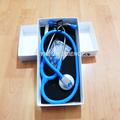 Light Blue Color New Single Head Professional Cardiology Medical Stethoscope