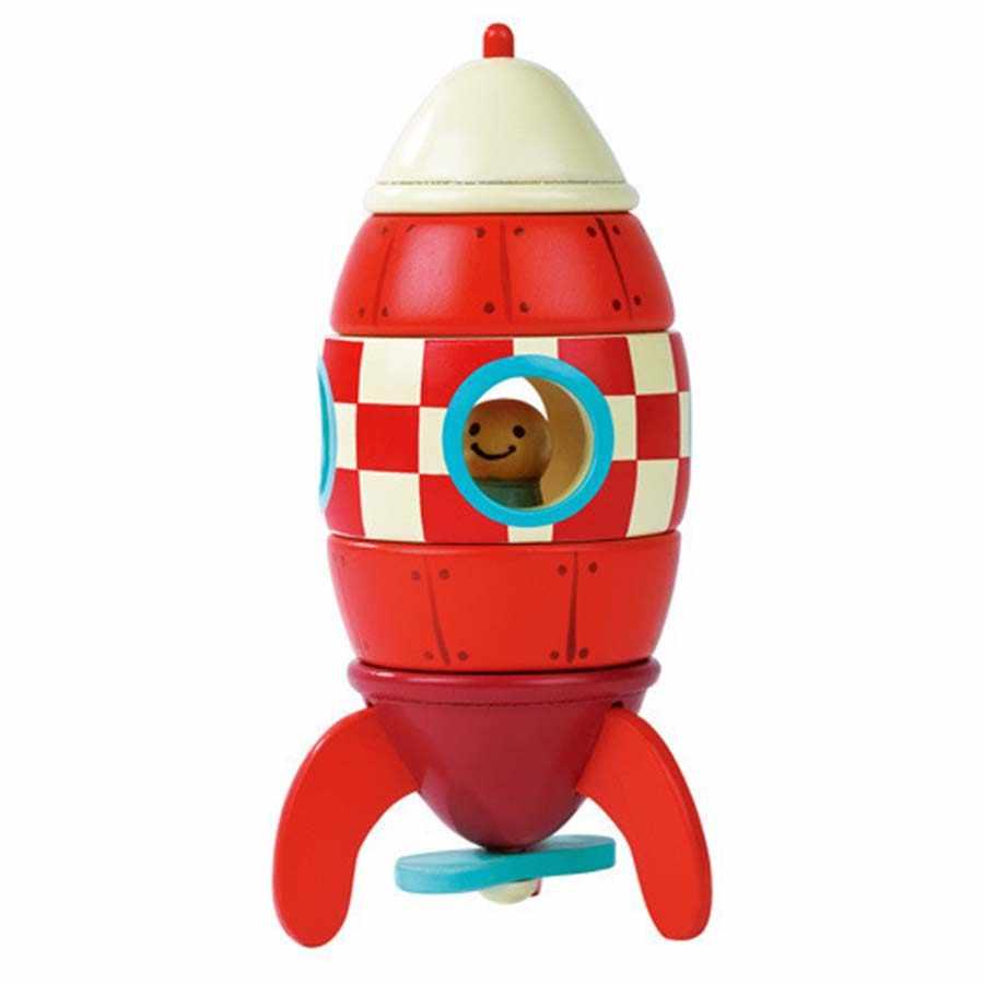 Деревянный 3D вертолет головоломка в форме ракеты игрушки магнитное удаление разборка сборка деревянные развивающие Игрушки Diecasts & Toy Vehicles