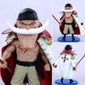 2015 una pieza lindo Edward Newgate blanca barba batalla Ver . Anime figuras de acción juguetes con la Base Collection modelo Mini juguete #