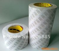 Original 3M 9075 double sided tissue tape 12mm*50M 10rolls/lot clear color we can offer other size