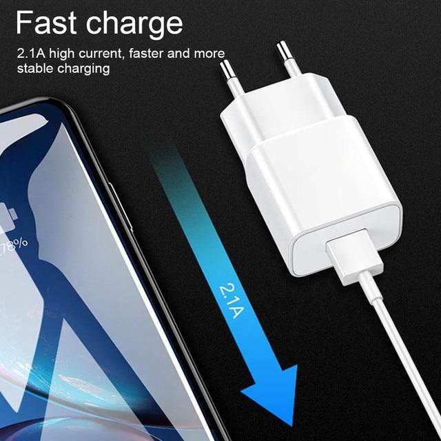 Kabel USB do Samsung Galaxy A10 A20 A30 A40 A50 A70 M10 M20 M30 S10 S10e S7 krawędzi S8 S9 A6 A8 A7 J4 J6 Plus 2018 ładowarka Adapter