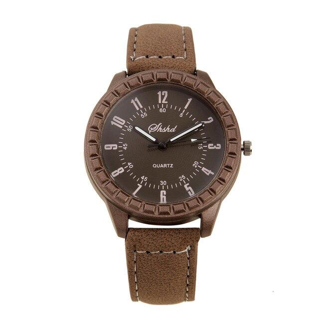 Hot Sales Vintage leisure imitation wood pair watches men women lover couple military dress quartz wristwatch