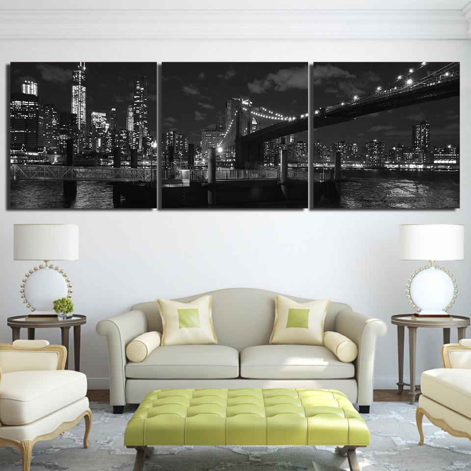 Canvas Hd Prints Pictures Living Room Home Decor 3 Pieces