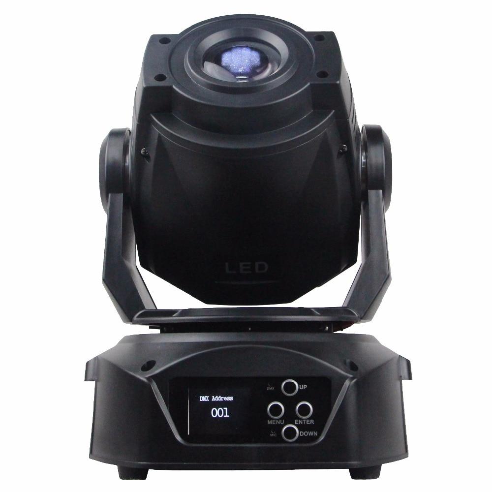 dj pro light moving heads DMX 512 control 75W LED spot moving head dj control