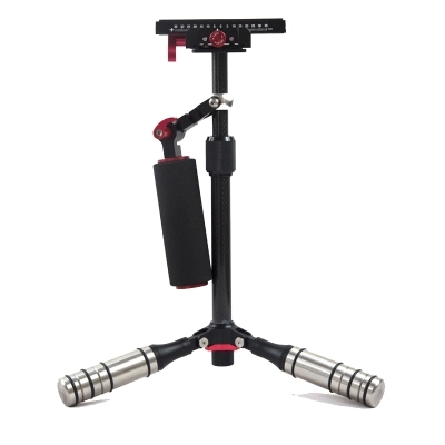 Stabilisateur de caméra portable en Fiber de PS-100Carbon pour Canon Nikon Sony DSLR