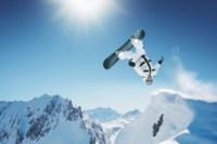 Home Decoration Extreme Snowboard Sports Silk Canvas Poster Print Accept Customization YR187