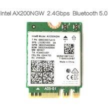 Pour Intel AX200 bande 2400 Mbps sans fil NGFF M.2 Bluetooth 5.0 Wifi carte réseau 2.4G/5G 802.11ac/ax WIFI AX200NGW