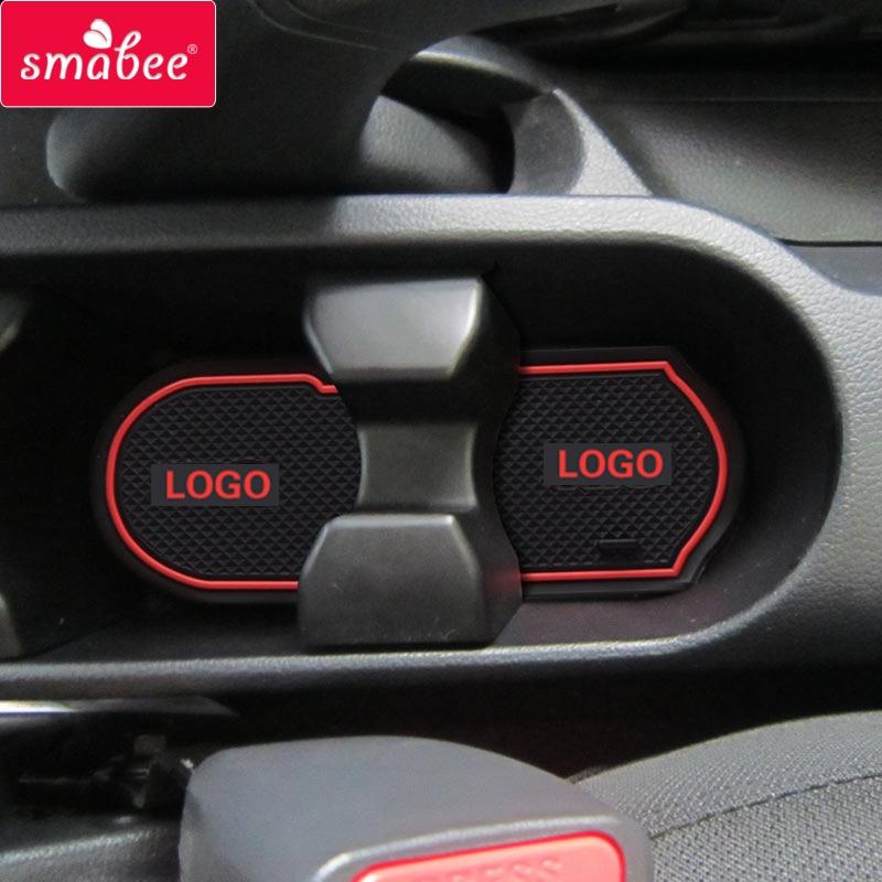 Smabee Auto Anti-Rutsch-Matte Gate Slot Tür Pad für KIA Rio K2 2011-2014 16L 14Lcarpets Innendekoration Zubehör, geeignet