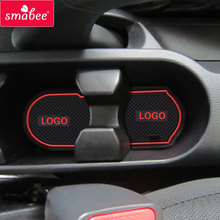 smabee Car anti slip mat gate slot door pad for KIA Rio K2 2011-2014 16L 14Lcarpets Interior decoration accessories,suitable