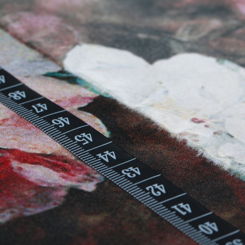 Lukisan minyak klasik, Seni digital printing, Kain sutra, Gaun - Seni, kerajinan dan menjahit - Foto 4