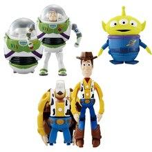 Alta calidad Toy Story 3 Buzz Lightyear Woody Jessie PVC figura de acción  coleccionables modelo de juguete niños regalos a8c07257fee