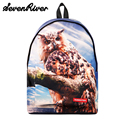 Animal Prints Women Casual Daypacks Animal Printing Backpack 2017 Newest Women Canvas Backpack School Bags