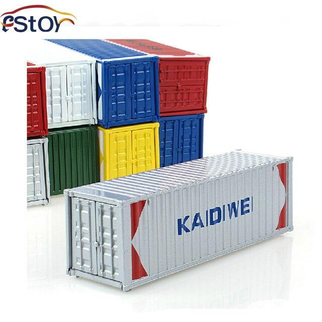 Legering Diecast Container Model 1 50 Schaal Model Accessoires Voor
